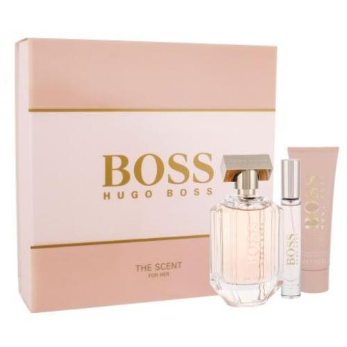 HUGO BOSS Boss The Scent For Her Eau de Parfum Moterims 100 ml (Edp 100 ml + K?no